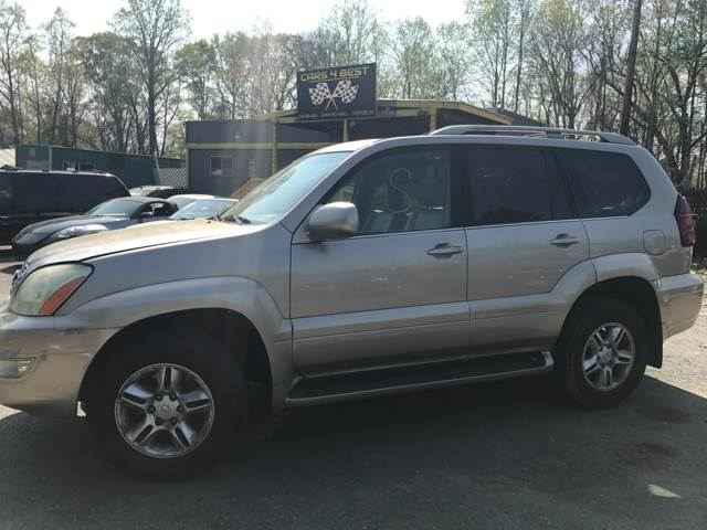 2003 Lexus GX 470 for sale at CARS 4 BEST in Stafford VA