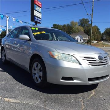 2007 Toyota Camry for sale in Milledgeville, GA