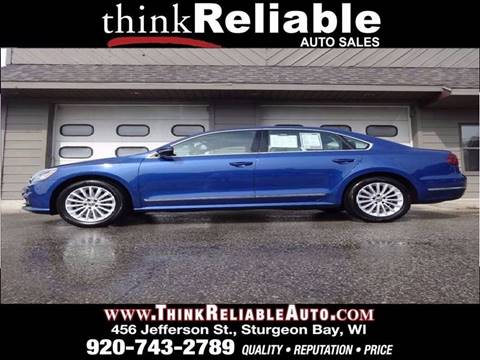 2017 Volkswagen Passat for sale in Sturgeon Bay, WI