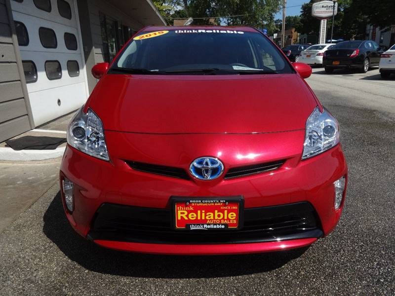 2015 Toyota Prius Two 4dr Hatchback - Sturgeon Bay WI