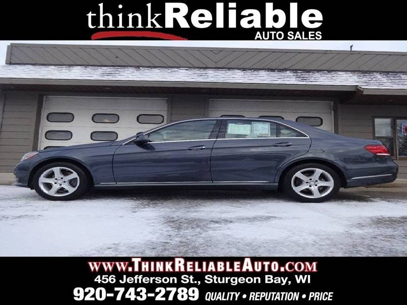 2014 Mercedes-Benz E-Class AWD E 350 Luxury 4MATIC 4dr Sedan - Sturgeon Bay WI