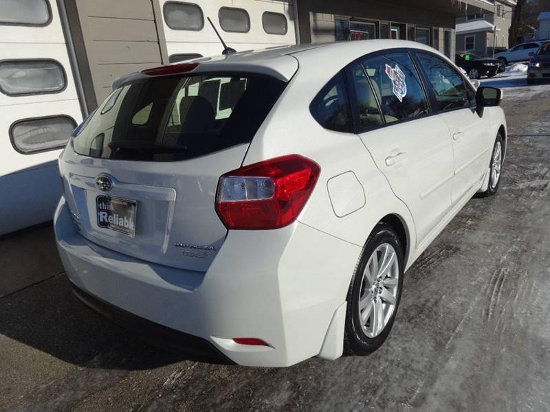 2015 Subaru Impreza AWD 2.0i Premium 4dr Wagon CVT - Sturgeon Bay WI