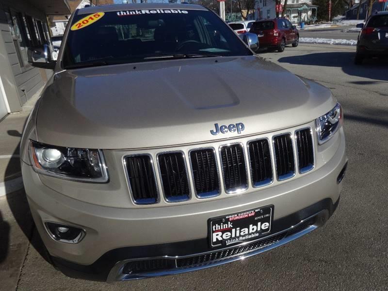 2015 Jeep Grand Cherokee 4x4 Limited 4dr SUV - Sturgeon Bay WI