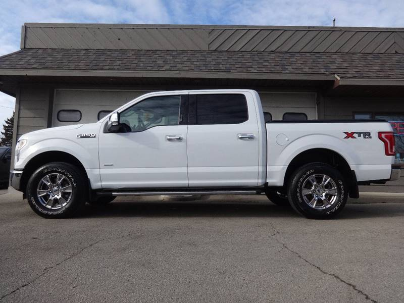 2015 Ford F-150 4x4 XLT 4dr SuperCrew 5.5 ft. SB - Sturgeon Bay WI