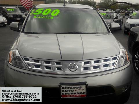 2004 Nissan Murano for sale in South Chicago Heights, IL