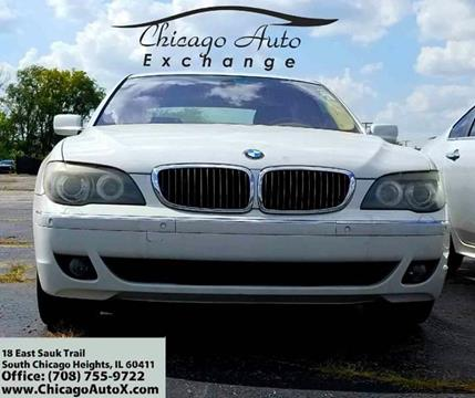 2007 BMW 7 Series for sale in South Chicago Heights, IL