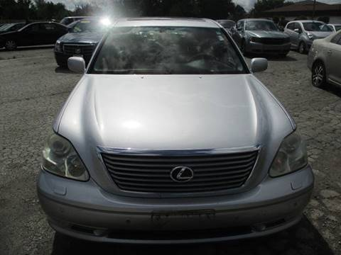 2004 Lexus LS 430 for sale at Chicago Auto Exchange in South Chicago Heights IL