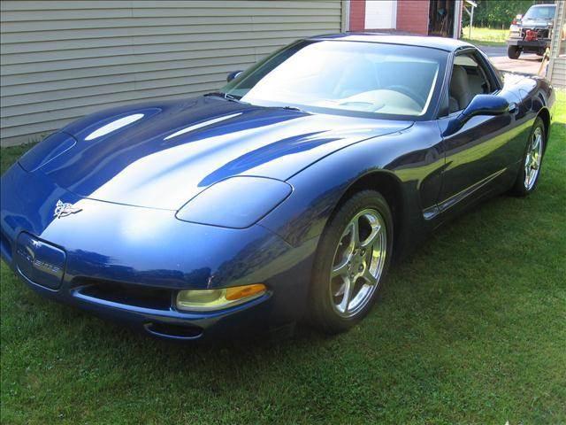 2004 Chevrolet Corvette for sale at SCHUMACHER AUTO SALES & SERVICE in Park Falls WI