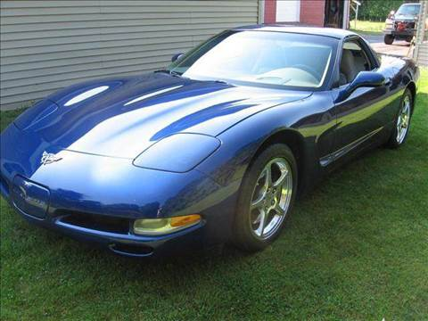 2004 Chevrolet Corvette for sale at SCHUMACHER AUTO SALES & SERVICE in Park Falls WI