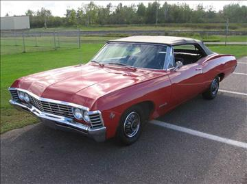 1967 Chevrolet Impala for sale in Park Falls, WI