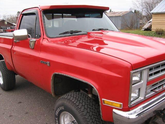 1985 Chevrolet C/K 10 Series for sale at SCHUMACHER AUTO SALES & SERVICE in Park Falls WI