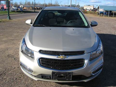 2016 Chevrolet Cruze Limited for sale at SCHUMACHER AUTO SALES & SERVICE in Park Falls WI