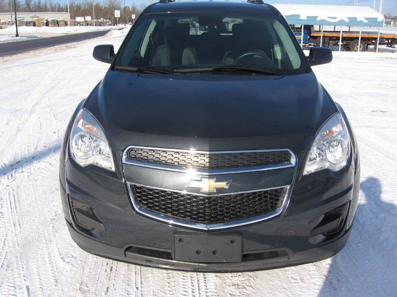 2014 Chevrolet Equinox for sale at SCHUMACHER AUTO SALES & SERVICE in Park Falls WI