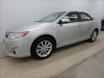 2013 Toyota Camry Hybrid for sale at Mid-Illini Auto Group in East Peoria IL