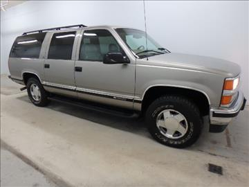 1999 Chevrolet Suburban for sale at Mid-Illini Auto Group in East Peoria IL