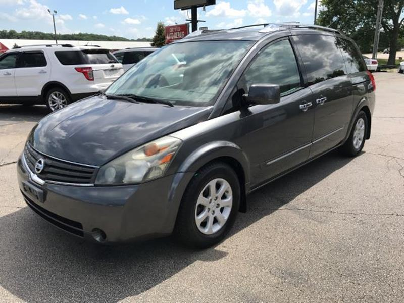 2008 Nissan Quest for sale at Mid-Illini Auto Group in East Peoria IL