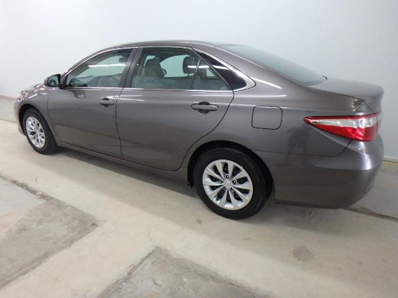 2016 Toyota Camry Hybrid for sale at Mid-Illini Auto Group in East Peoria IL