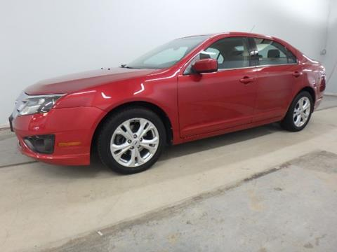 2012 Ford Fusion for sale at Mid-Illini Auto Group in East Peoria IL