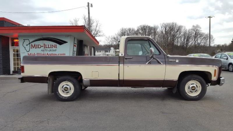 1976 Chevrolet C/K 10 Series for sale at Mid-Illini Auto Group in East Peoria IL