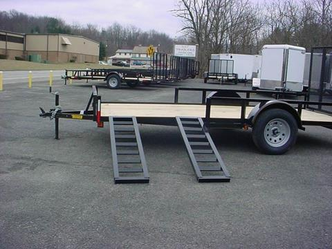 "2021 Reiser 82"" x 14 ATV Sides Utility for sale at S. A. Y. Trailers in Loyalhanna PA"