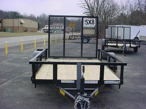 2019 Reiser 5' x 8' Utility Trailer for sale in Loyalhanna, PA
