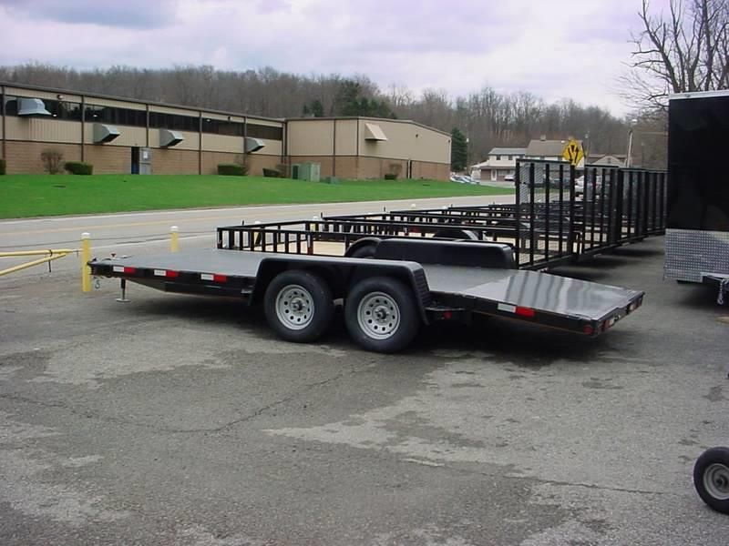 2021 Reiser Manufacturing 18' Car Hauler for sale at S. A. Y. Trailers in Loyalhanna PA