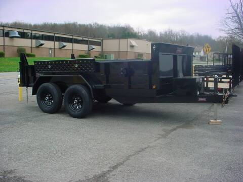 2021 FORCE 6X12 DUMP for sale at S. A. Y. Trailers in Loyalhanna PA