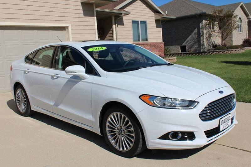 2014 Ford Fusion Titanium 4dr Sedan In Alta Ia Alta Auto Sales