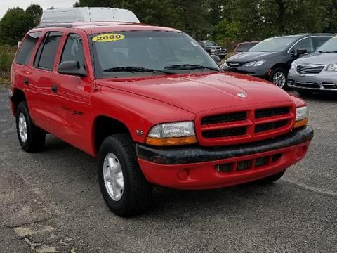 2000 Dodge Durango for sale in Greenville MI