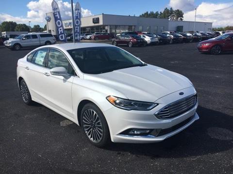 2017 Ford Fusion for sale in Greenville MI