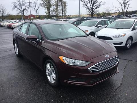 2018 Ford Fusion for sale in Greenville, MI