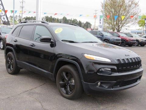 2017 Jeep Cherokee for sale in Greenville, MI
