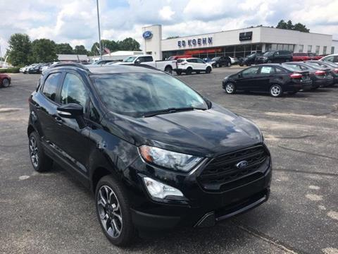 2019 Ford EcoSport for sale in Greenville, MI