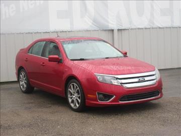 2012 Ford Fusion for sale in Greenville, MI