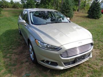2016 Ford Fusion for sale in Greenville, MI