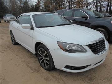 2013 Chrysler 200 Convertible for sale in Greenville, MI