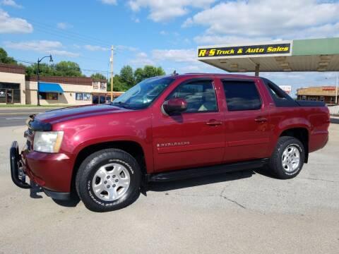 2008 Chevrolet Avalanche for sale at R & S TRUCK & AUTO SALES in Vinita OK