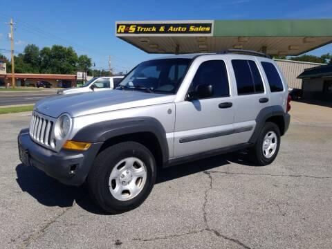 2006 Jeep Liberty for sale at R & S TRUCK & AUTO SALES in Vinita OK