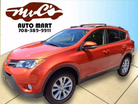 2015 Toyota RAV4 for sale at Mr.C's AutoMart in Midlothian IL