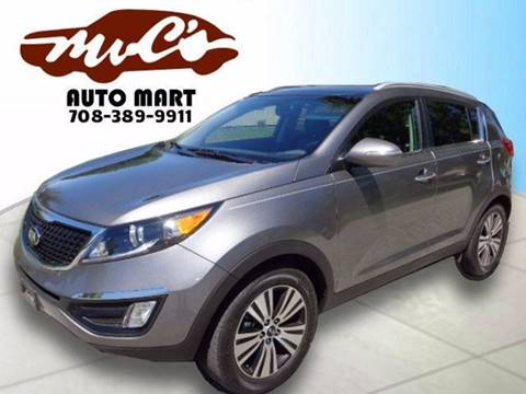2016 Kia Sportage for sale at Mr.C's AutoMart in Midlothian IL