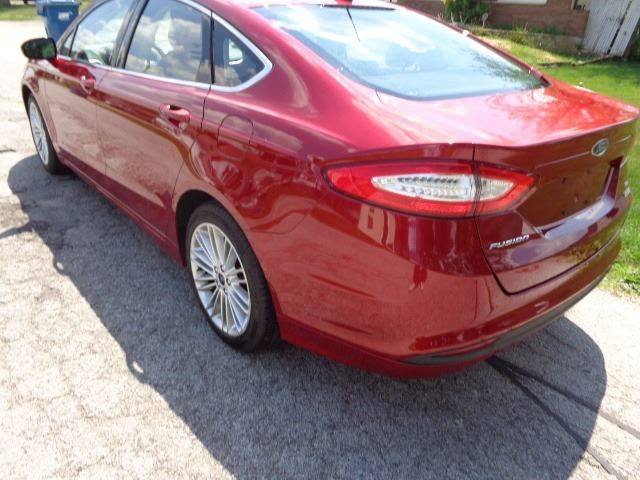 2014 Ford Fusion for sale at Mr.C's AutoMart in Midlothian IL
