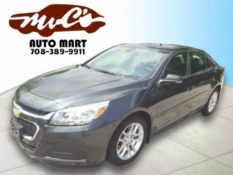 2015 Chevrolet Malibu for sale in Midlothian, IL