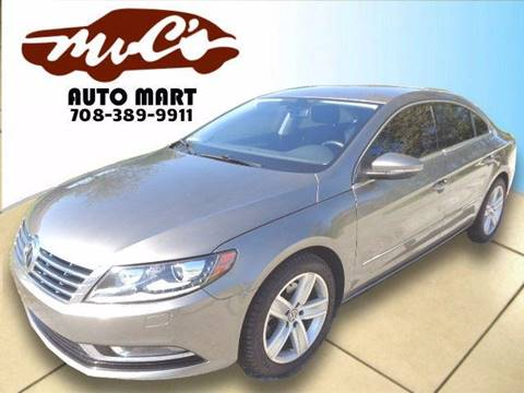 2013 Volkswagen CC for sale at Mr.C's AutoMart in Midlothian IL