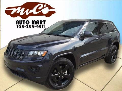 2015 Jeep Grand Cherokee for sale at Mr.C's AutoMart in Midlothian IL