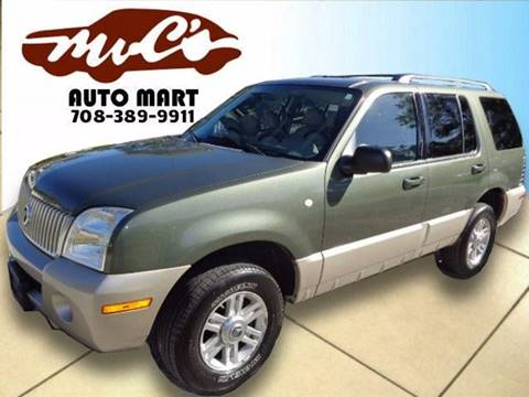 2004 Mercury Mountaineer for sale at Mr.C's AutoMart in Midlothian IL