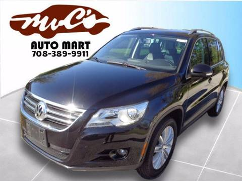 2011 Volkswagen Tiguan for sale at Mr.C's AutoMart in Midlothian IL