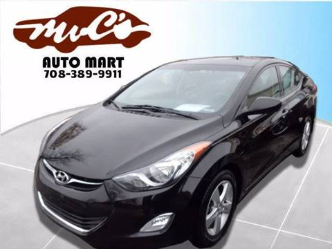 2013 Hyundai Elantra for sale at Mr.C's AutoMart in Midlothian IL