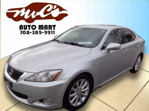 2009 Lexus IS 250 for sale at Mr.C's AutoMart in Midlothian IL