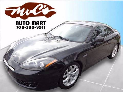 2008 Hyundai Tiburon for sale at Mr.C's AutoMart in Midlothian IL