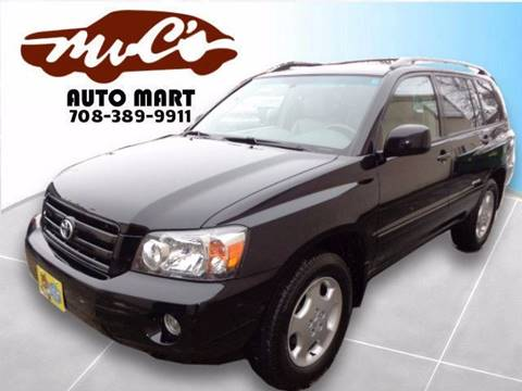 2007 Toyota Highlander for sale at Mr.C's AutoMart in Midlothian IL